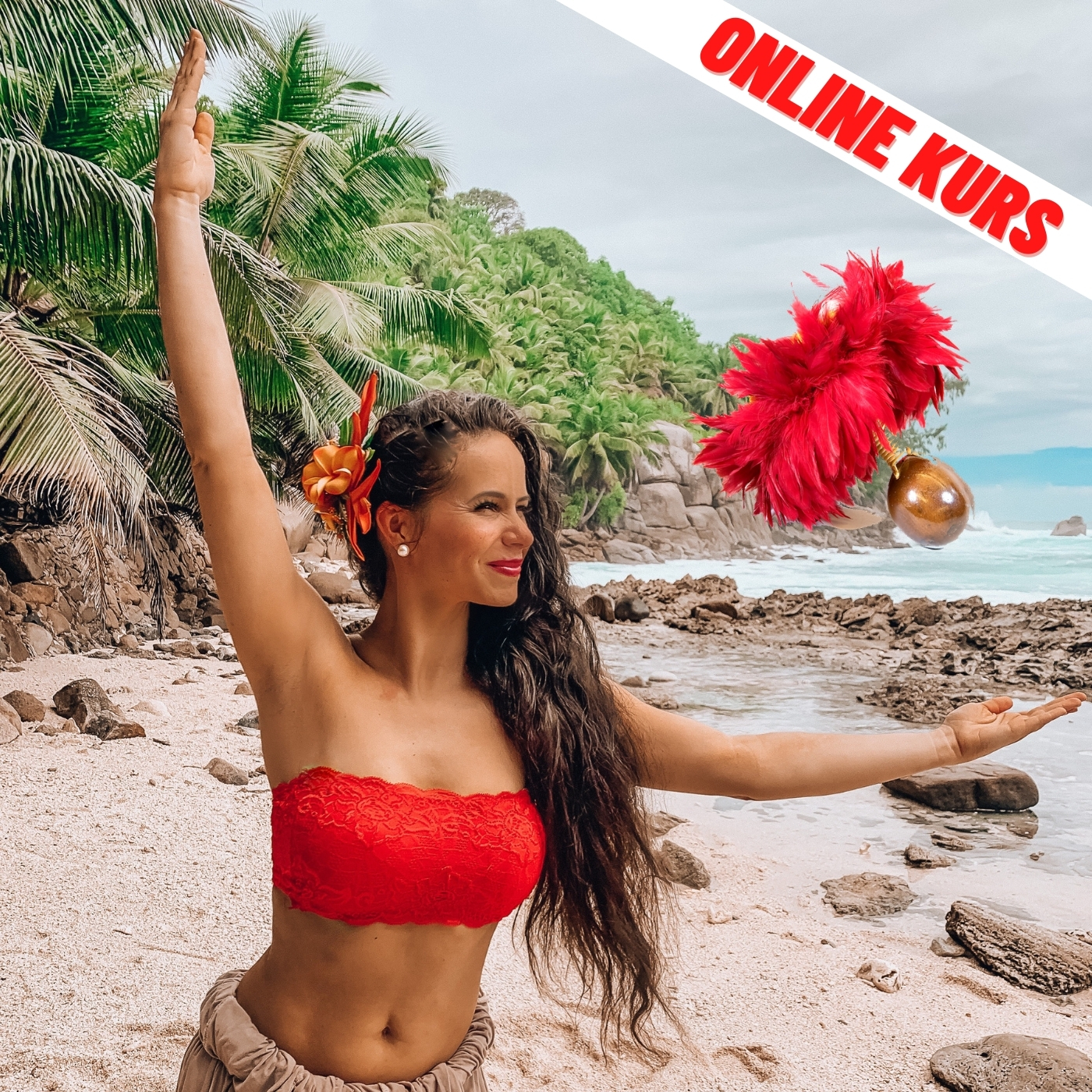 Hawaiian Hula Requisit Uli Uli ab Tanzvorkenntnisse Online Kurs Start:Mo.18.01.21
